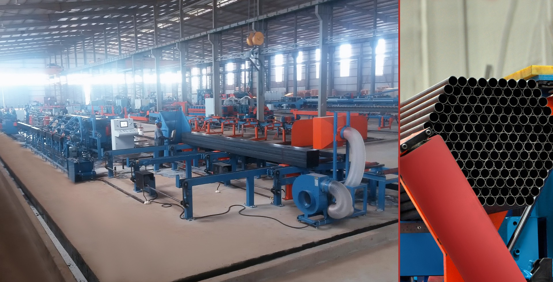 Automatic Pipe-Profile Packing Machine